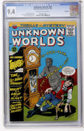 Silver Age (1956-1969):Horror, Unknown Worlds #40 Northland pedigree (ACG, 1965) CGC NM 9.4Off-white to white pages....