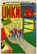 Golden Age (1938-1955):Horror, Adventures Into The Unknown #60 (ACG, 1954) Condition: FN/VF....