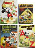 Books:Children's Books, Lot of Four Walt Disney Related Books, including:... (Total: 4Items)