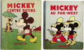 Books:Children's Books, Pair of French 1930s Disney Books, including:... (Total: 2 Items)