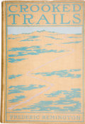 Books:First Editions, Frederic Remington. Crooked Trails. New York: Harper &Brothers, 1898....