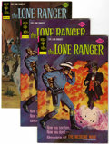 Bronze Age (1970-1979):Western, Lone Ranger File Copies Group (Gold Key, 1975-77) Condition: Average VF.... (Total: 6 Comic Books)
