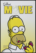 """Movie Posters:Animated, The Simpsons Movie (20th Century Fox, 2007). One Sheet (27"""" X 40"""") Advance DS. Animated...."""