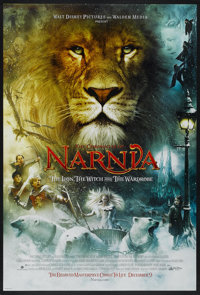 """The Chronicles of Narnia: The Lion, the Witch and the Wardrobe Lot (Buena Vista, 2005). One Sheets (2) (27"""" X 40&qu..."""