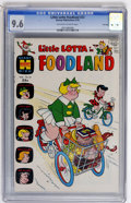 Bronze Age (1970-1979):Cartoon Character, Little Lotta Foodland #23 File Copy (Harvey, 1970) CGC NM+ 9.6Off-white to white pages....