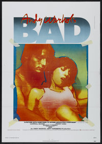 "Andy Warhol's Bad (New World, 1977). One Sheet (27"" X 41""). Comedy"