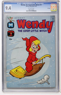 Wendy, the Good Little Witch #17 File Copy (Harvey, 1963) CGC NM 9.4 Off-white pages