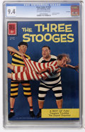 Silver Age (1956-1969):Humor, Four Color #1187 The Three Stooges - File Copy (Dell, 1961) CGC NM 9.4 Off-white to white pages....