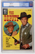 Silver Age (1956-1969):Western, Four Color #1077 The Deputy - File Copy (Dell, 1960) CGC NM+ 9.6Off-white to white pages....