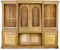 Furniture , A MONUMENTAL FRENCH PROVINCIAL OAK BIBLIOTHEQUE. 19th Century. 94-3/4 x 116 x 22 inches (240.7 x 294.6 x 55.9 cm). ...