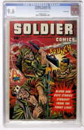 Golden Age (1938-1955):War, Soldier Comics #6 Crowley Copy pedigree (Fawcett, 1952) CGC NM+ 9.6Cream to off-white pages....