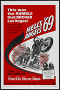 "Movie Posters:Action, Hell's Angels '69 (American International, 1969). One Sheet (27"" X 41""). Action...."