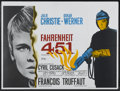 "Movie Posters:Science Fiction, Fahrenheit 451 (Universal, 1967). British Quad (30"" X 40""). ScienceFiction...."