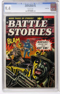 Golden Age (1938-1955):War, Battle Stories #9 Crowley Copy pedigree (Fawcett, 1953) CGC NM 9.4Off-white pages....