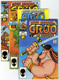 Modern Age (1980-Present):Humor, Groo the Wanderer Group (Marvel, 1985-91) Condition: Average FN....(Total: 67 Comic Books)