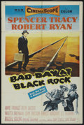 "Movie Posters:Thriller, Bad Day at Black Rock (MGM, 1955). One Sheet (27"" X 41""). Thriller...."