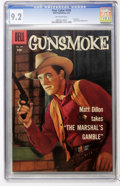 Silver Age (1956-1969):Western, Four Color #769 Gunsmoke (Dell, 1957) CGC NM- 9.2 Off-whitepages....