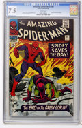Silver Age (1956-1969):Superhero, The Amazing Spider-Man #40 (Marvel, 1966) CGC VF- 7.5 White pages....