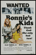 "Movie Posters:Bad Girl, Bonnie's Kids (General Film, 1973). One Sheet (27"" X 41""). BadGirl...."