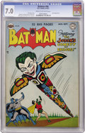 Golden Age (1938-1955):Superhero, Batman #66 (DC, 1951) CGC FN/VF 7.0 Cream to off-white pages....