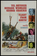 "Movie Posters:Adventure, Flight from Ashiya (United Artists, 1964). One Sheet (27"" X 41""). Adventure...."