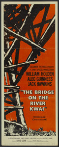 "Movie Posters:Academy Award Winner, The Bridge On The River Kwai (Columbia, 1958). Insert (14"" X 36"").Academy Award Winner...."