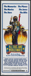 "Movie Posters:Documentary, All This and World War II (20th Century Fox, 1976). Insert (14"" X 36""). Documentary...."