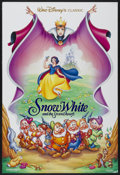 "Movie Posters:Animated, Snow White and the Seven Dwarfs (Buena Vista, R-1993). One Sheet(27"" X 40"") SS. Animated...."