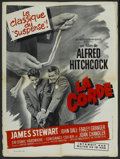 """Movie Posters:Hitchcock, Rope (Warner Brothers, 1948). French Petite (23.5"""" X 31.5""""). Hitchcock...."""
