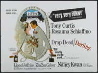 "Arrivederci, Baby! (Paramount, 1966). British Quad (30"" X 40""). Released in the UK as Drop Dead Darling. Comed..."