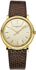 Timepieces:Wristwatch, Vacheron & Constantin Men's Center Seconds Gold Wristwatch, circa 1960. ...