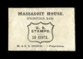 Fractional Currency:First Issue, Postage Envelope - 10¢ Massasoit House, Springfield Mass. ChoiceExtremely Fine.. ...