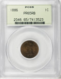 Proof Indian Cents: , 1886 1C Type One PR65 Red and Brown PCGS. PCGS Population (59/28). NGC Census: (52/34). Mintage: 4,290. Numismedia Wsl. Pri...