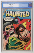 Golden Age (1938-1955):Horror, This Magazine Is Haunted #20 (Fawcett, 1954) CGC VF/NM 9.0Off-white pages....