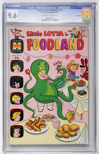 Little Lotta Foodland #27 File Copy (Harvey, 1971) CGC NM+ 9.6 Off-white to white pages