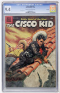Silver Age (1956-1969):Western, The Cisco Kid #34 File Copy (Dell, 1957) CGC NM 9.4 Cream tooff-white pages....