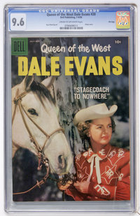 Queen of the West Dale Evans #20 File Copy (Dell, 1958) CGC NM+ 9.6 Cream to off-white pages
