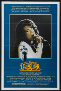 """Coal Miner's Daughter (Universal, 1980). One Sheet (27"""" X 41"""") Style A. Drama"""