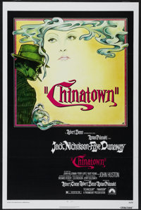 """Chinatown (Paramount, 1974). One Sheet (27"""" X 41"""") Tri-Folded. Mystery"""