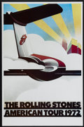 "Movie Posters:Rock and Roll, The Rolling Stones American Tour 1972 (Sunday Promotions, 1972).Poster (25"" X 38""). Rock and Roll...."