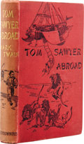 Books:First Editions, Mark Twain. Tom Sawyer Abroad. London: Chatto & Windus,1894....