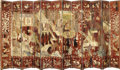 Asian:China Trade, A FINE CHINESE TWELVE PANEL COROMANDEL LACQUER SCREEN. 18thCentury. 105 x 231 inches (266.7 x 586.7 cm). ...