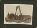 Western Expansion:Goldrush, Cabinet Card Photograph Mining Scene 1900s - ...