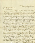 Miscellaneous:Ephemera, Letter From St. Paul to General Thomas Ransom 1871 - ...