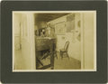 Photography:Cabinet Photos, Large Format Photograph American Express Shipping Office 1912 - ...