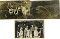 Western Expansion:Goldrush, Three Real Photo Mining Postcards ca 1900-1910 - ... (Total: 3Items)