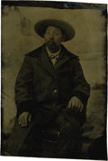 Photography:Tintypes, Sixth Plate Tintype of Ethic Chinese Man 1870s - ...