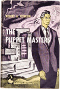 Books:First Editions, Robert A. Heinlein. The Puppet Masters. Garden City, NewYork: Doubleday & Co., Inc., 1951....