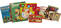 Eight Miscellaneous Children's Books and Children's Activity Books