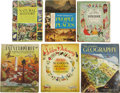 Books:Children's Books, Six Children's Golden Books - People, Places, Music and Things,...(Total: 6 Items)